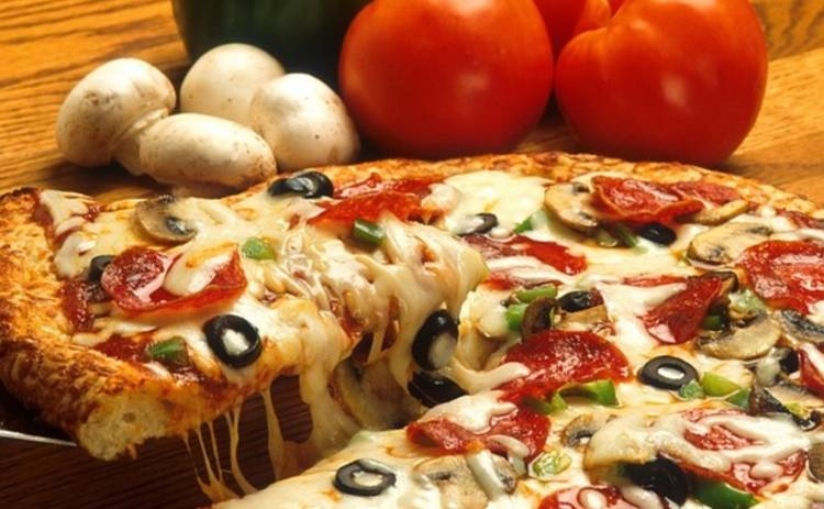 Ленивая пицца на сковороде (рецепт)