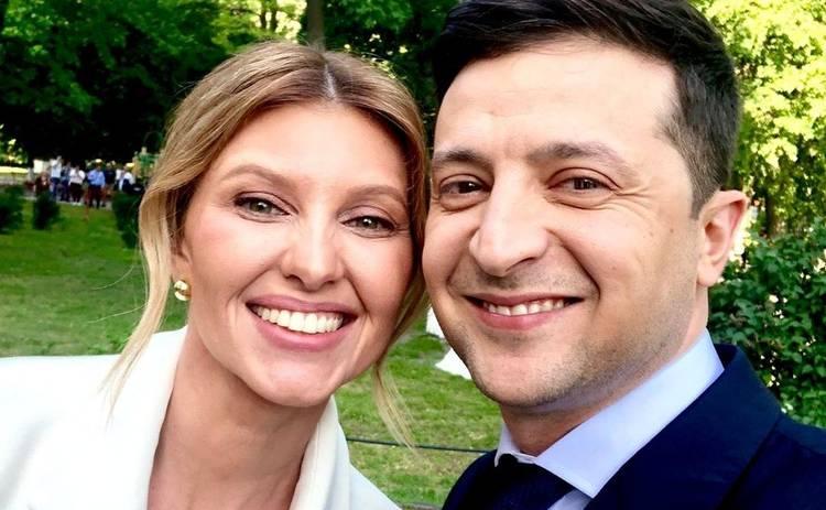 Елена Зеленская блистала на инаугурации мужа в наряде от украинского дизайнера