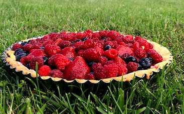 Летний десерт! Пирог с клубникой от ведущей «Ревизор» Юлии Панковой (рецепт)