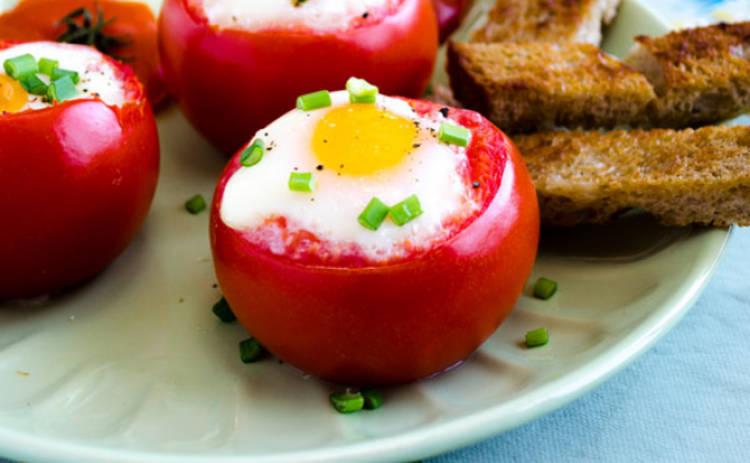 Фаршированные помидоры с яйцом - хит лета (рецепт)