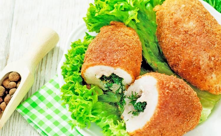 Шикарные куриные котлетки по-киевски в домашних условиях (рецепт)