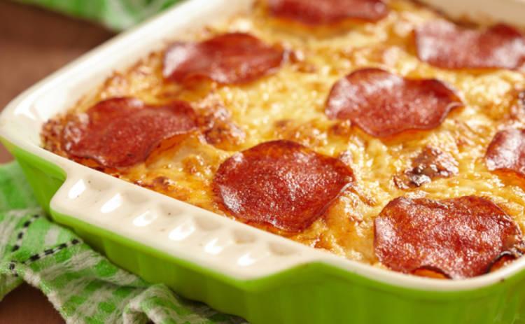 Пицца из картофеля - рецепт