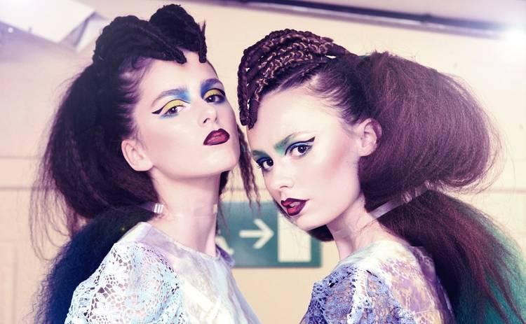 Новый бьюти-тренд: техника дрейпинг-макияжа