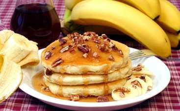 Полезные банановые оладьи без муки и сахара (рецепт)