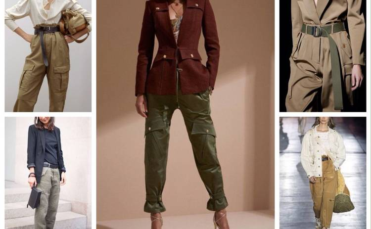 Тренды 2019: как носить брюки карго