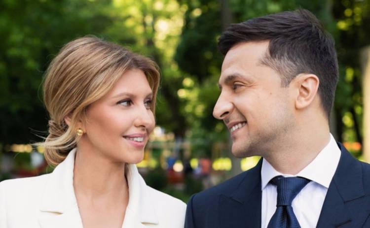 Жена Владимира Зеленского вышла в свет в костюме за 20 тысяч гривен