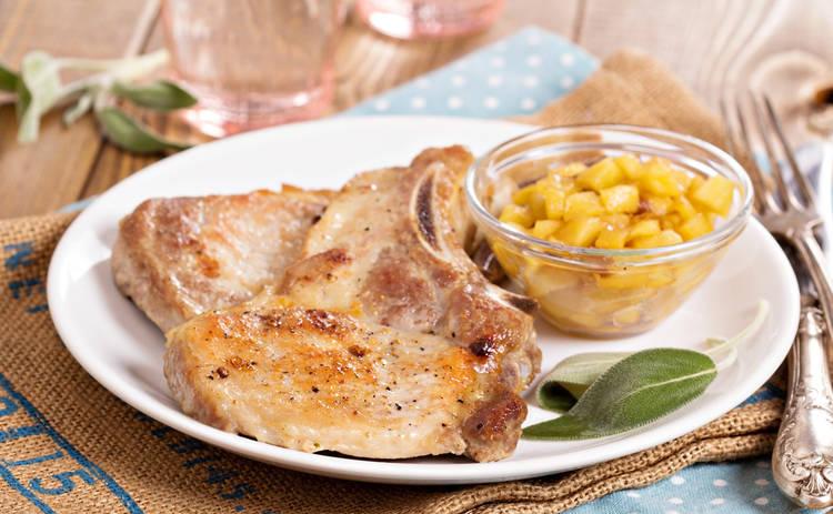 Отбивные с грибами и сыром «Праздничное настроение» (рецепт)