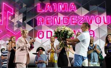 Ураган чуть не сорвал фестиваль Лаймы Вайкуле в Одессе