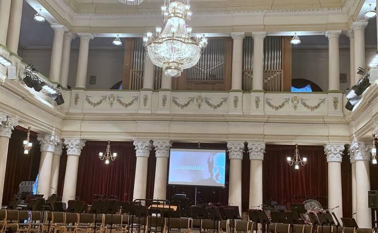 Музыка из кинофильмов в Национальной филармонии Украины