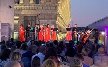 Романтический концерт на крыше в центре столицы