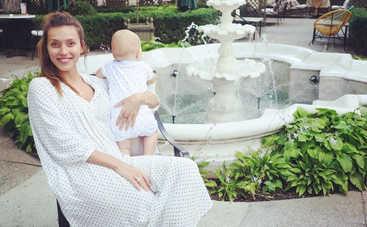 Регина Тодоренко призналась, кто стал крестной для ее сына Майкла
