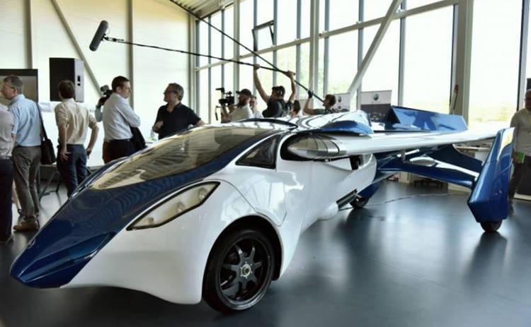 Будущее за летающими автомобилями: презентация первого прототипа