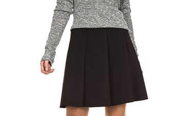 Советы, которые помогут носить юбку под свитер, и выглядеть стильно