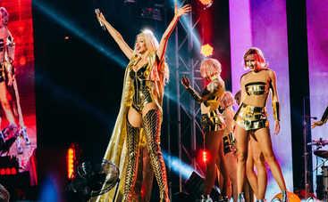 Первая леди украинской поп-сцены: Оля Полякова собрала аншлаг на стадионе во Львове