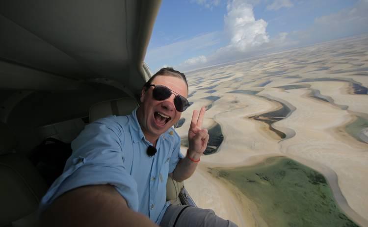 Мир наизнанку-10: Дмитрий Комаров покажет впечатляющие кадры самой необычной пустыни в мире
