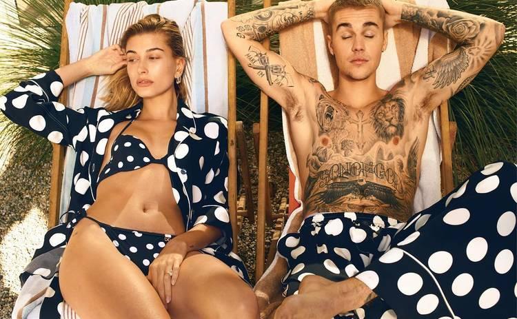 Джастин Бибер и Хейли Болдуин снялись в откровенной фотосессии нижнего белья