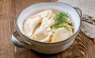 Вареники с картошкой и грибами (рецепт)