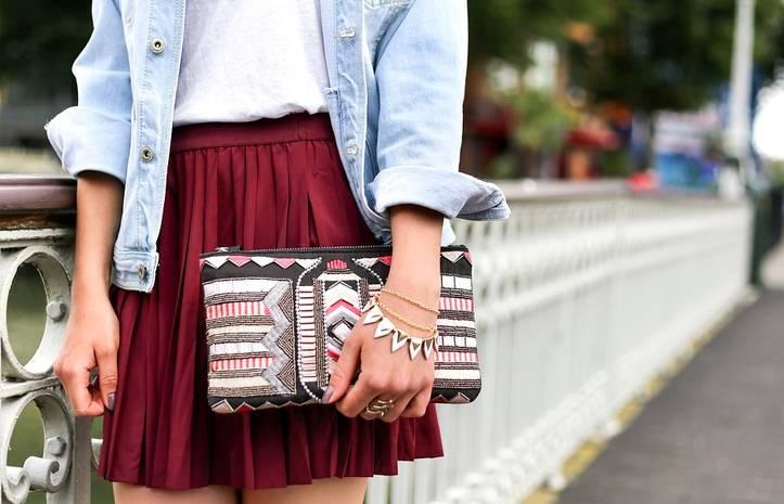 Тренды 2019: с чем сочетать шелковую юбку, чтобы выглядеть модно