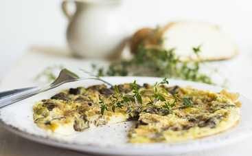 Итальянский омлет фриттата с пармезаном (рецепт)