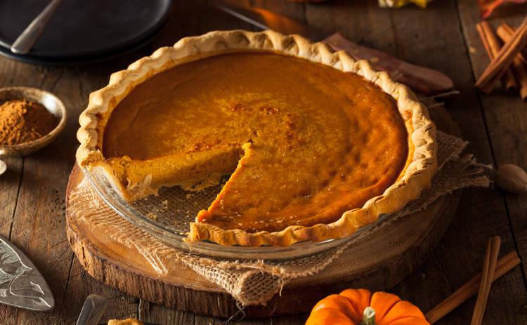 Пирог с тыквой на Хэллоуин (рецепт)