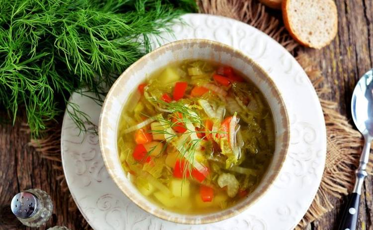 Суп из овощей с кукурузой (рецепт)