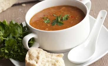 Аппетитный суп с фасолью и морковью (рецепт)