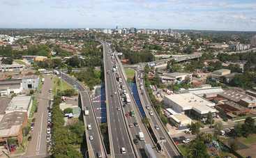 Сиднейская дорога за 4 млрд долларов спровоцировала 300 аварий за месяц