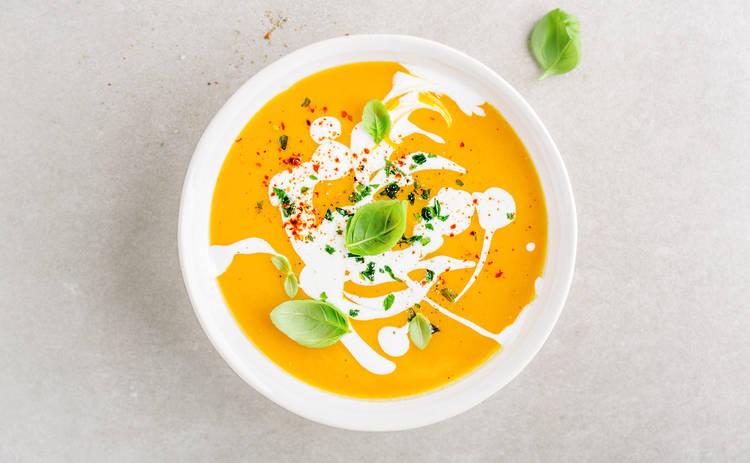 Тыквенный крем-суп со сливками (рецепт)