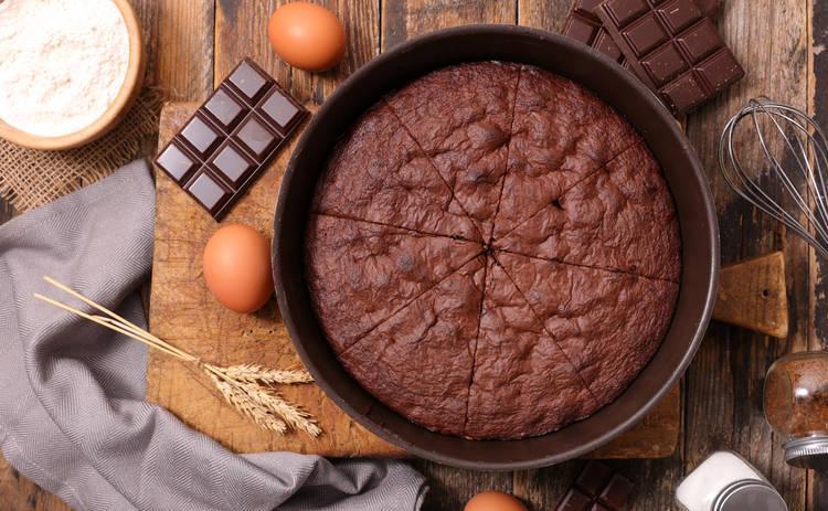 Шоколадный постный кекс (рецепт)
