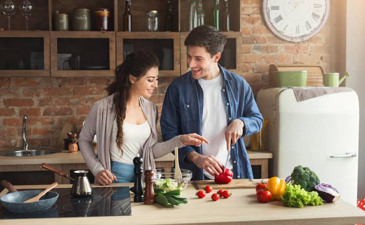 Салат с икрой и овощами на Новый год (рецепт)