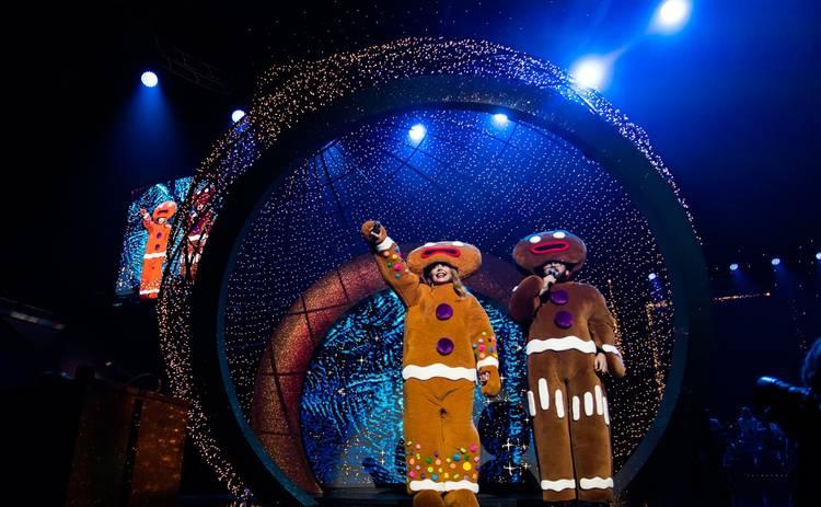 Рождественская история с Тиной Кароль:  какими образами удивляла певица в первый день