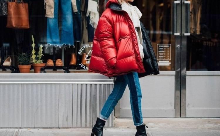 Как правильно сочетать каблук и пуховик этой зимой?