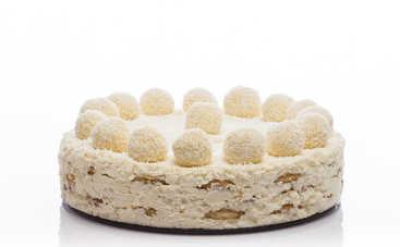 Нежный торт Raffaello без выпечки (рецепт)