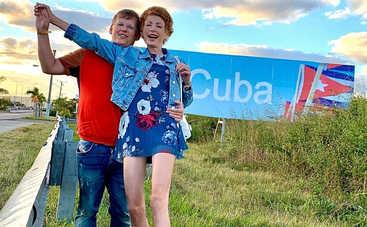 Елена-Кристина Лебедь показала, как проводит незабываемый отдых на Кубе с женихом экс-депутатом