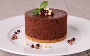 Невероятный торт-мусс с шоколадом без выпечки (рецепт)