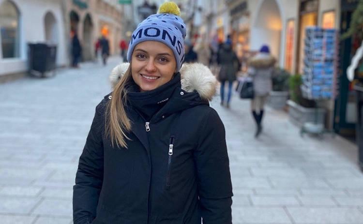 Ведущую программы «Ревизор Х» Юлию Панкову поставили на сноуборд за 80 гривен
