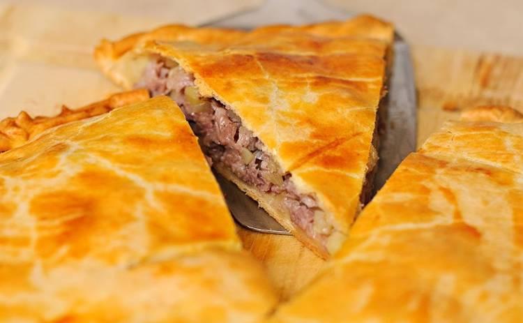 Готовим мясной пирог для всей семьи (рецепт)