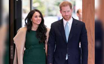 Меган Маркл и принц Гарри сбежали из дворца