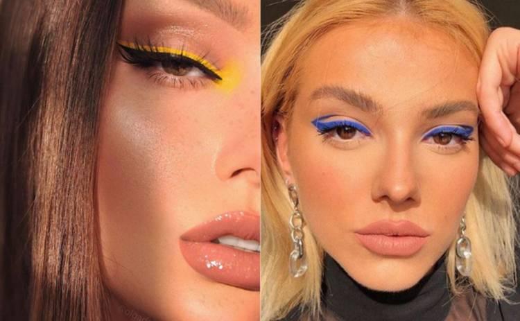Будьте на одной волне: новый тренд в макияже глаз!