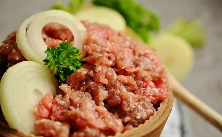 Рис с фаршем на сковороде (рецепт)