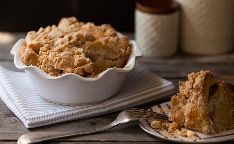 Великий пост и завтрак: яблочный крамбл для всей семьи (рецепт)