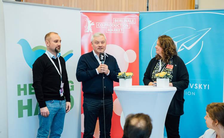 Берлинале 2020: Фонд Янковского и Госкино организовали Украинский бизнес-ланч