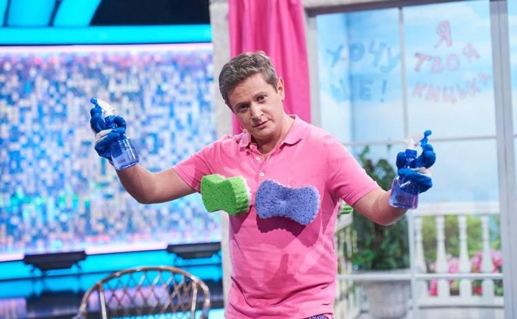 Евгений Сморигин научил блондинку мыть окна