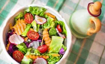 Итальянский салат с гречкой и овощами (рецепт)