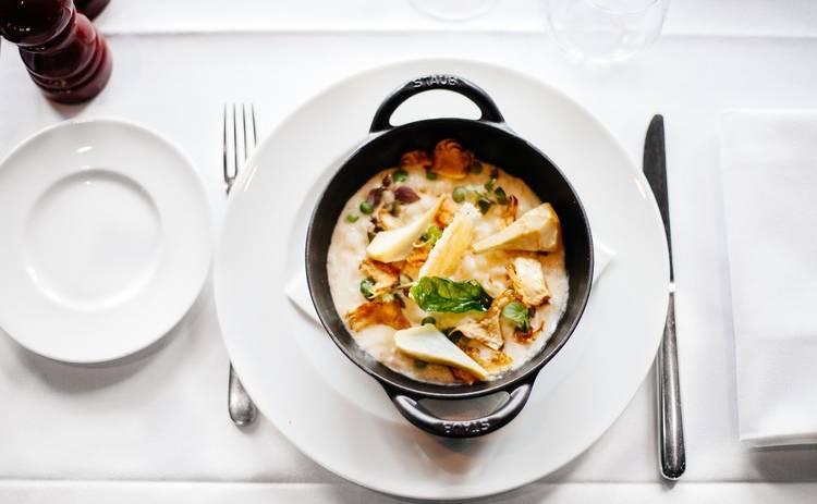 Ароматный грибной суп с картофелем (рецепт)