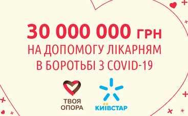 Украинский мобильный оператор выделяет 30 миллионов гривен благотворительной помощи на борьбу с COVID-19