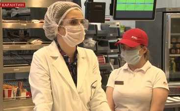 Ревизор. Карантин: в одном из киевских заведений быстрого питания готовят пищу без маски и перчаток