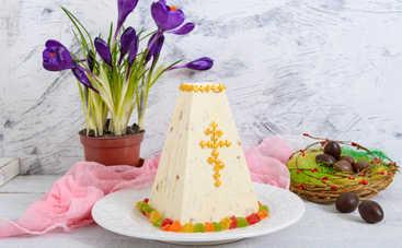 Праздник для сладкоежек! Творожная паска со сгущенкой (рецепт)