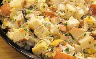 Картофельный салат на каждый день (рецепт)