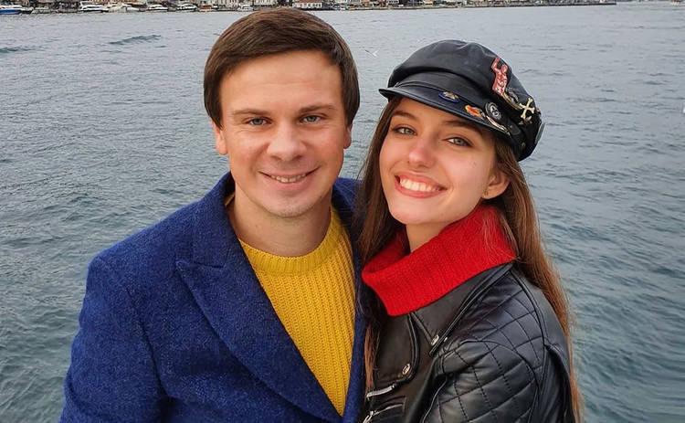 Жена Дмитрия Комарова